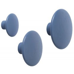Закачалка Dots Светло синьо