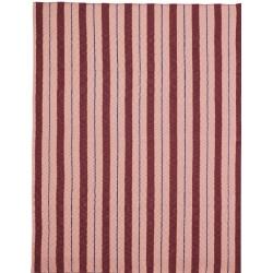 Одеяло Pinstripe Розово
