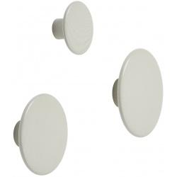 Закачалка Dots Мръсно бяло