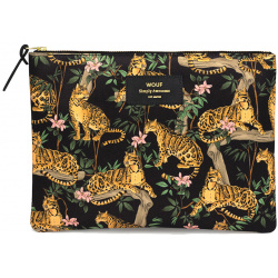 Несесер за дамска чанта Black Lazy Jungle XL