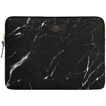 "Калъф за лаптоп 15"" Black Marble"