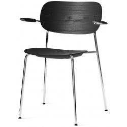 Co Dining Chair, with armrest, Chrome