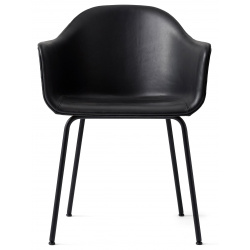 Harbour Dining Chair, Steel Base, upholstered