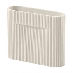 Ваза Ridge Мръсно бяло 16 см