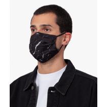 Предпазна маска за лице Black Marble