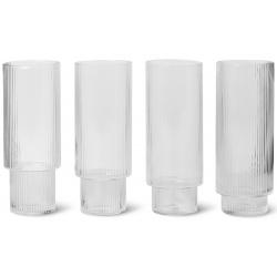 Комплект високи чаши Ripple 4 броя