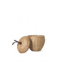 Плетен кош Ябълка