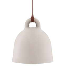 Bell Лампа голяма цвят пясък