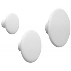 Закачалка Dots Бяла