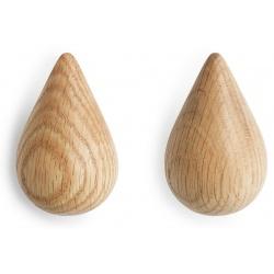 Dropit дървени закачалки големи - 2 броя