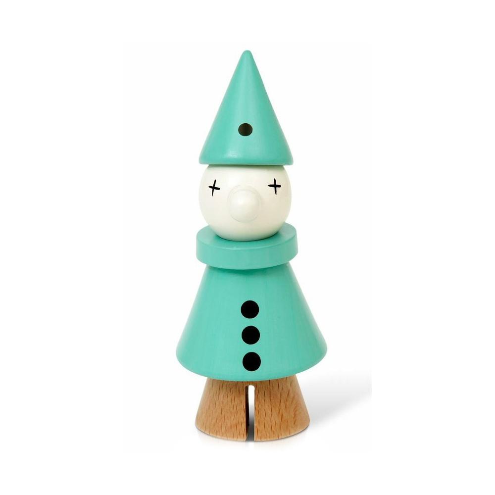 Дървена играчка Клоун Ментов