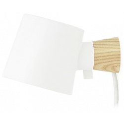 Rise лампа за стена бяла