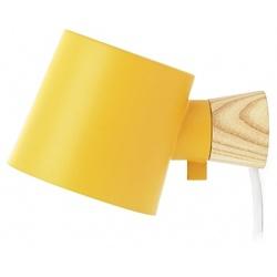 Rise лампа за стена Жълта