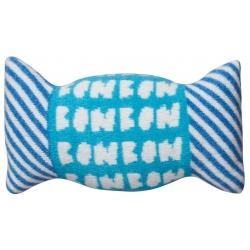 Възглавница бонбон синя